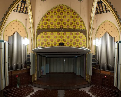 Irvine Auditorium, Interior (number 8)