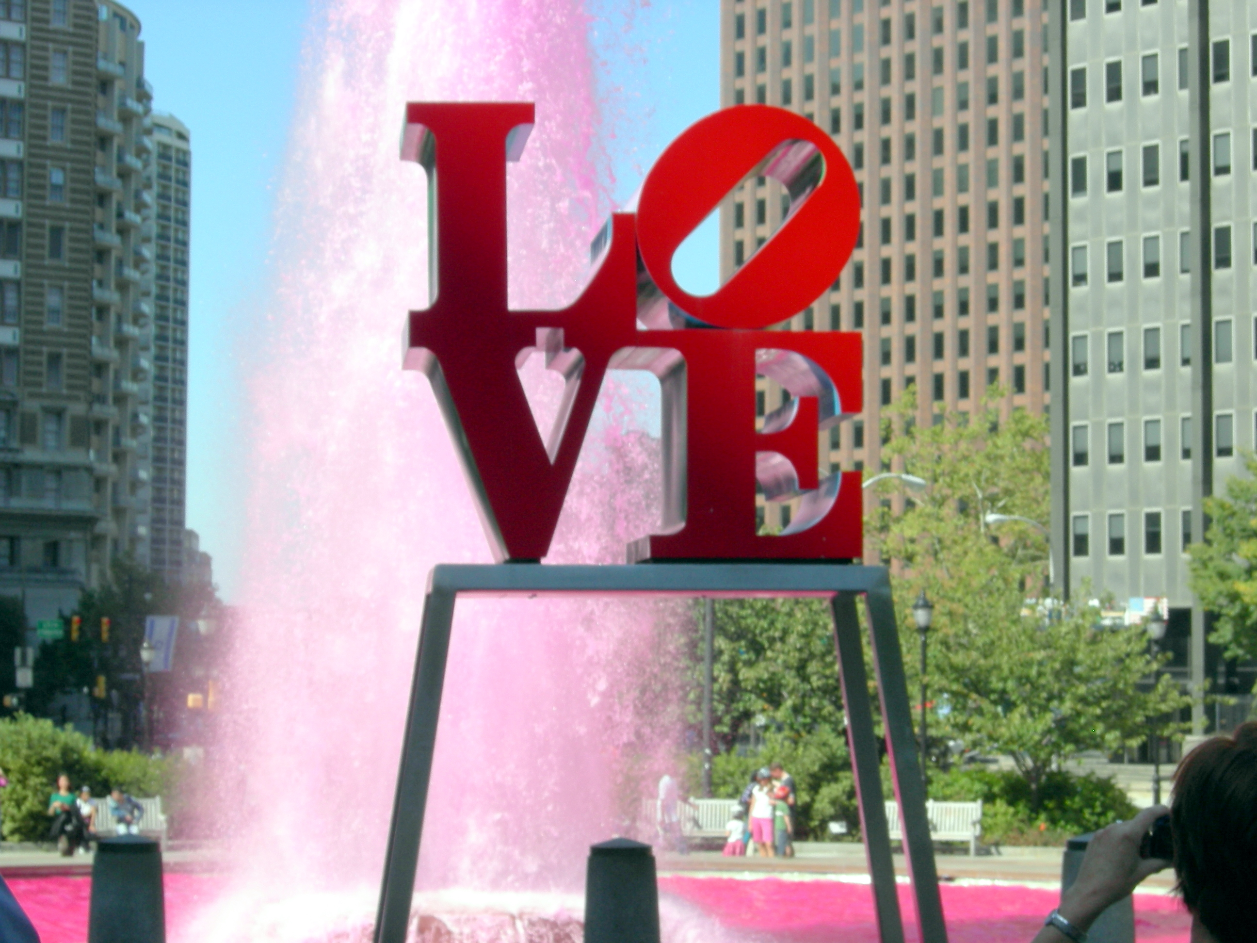 Love By Robert Indiana Frankly Penn
