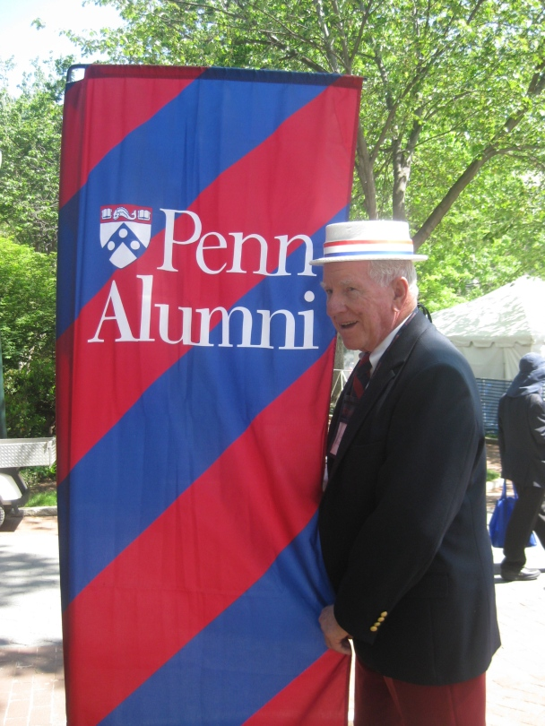 Great Display of Penn Spirit at Alumni Weekend 2012