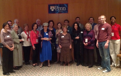 Reception in Jerusalem with the regional Penn alumni club!