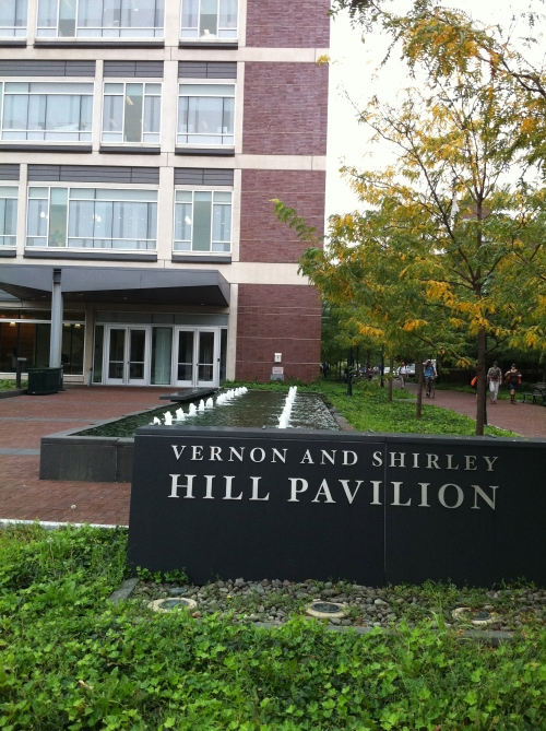 Vernon and Shirley Hill Pavilion