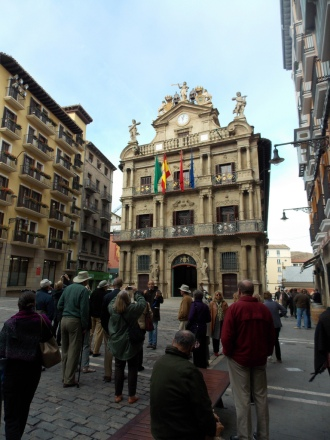 City Hall in Pamplona