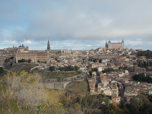 The view of Toledo.