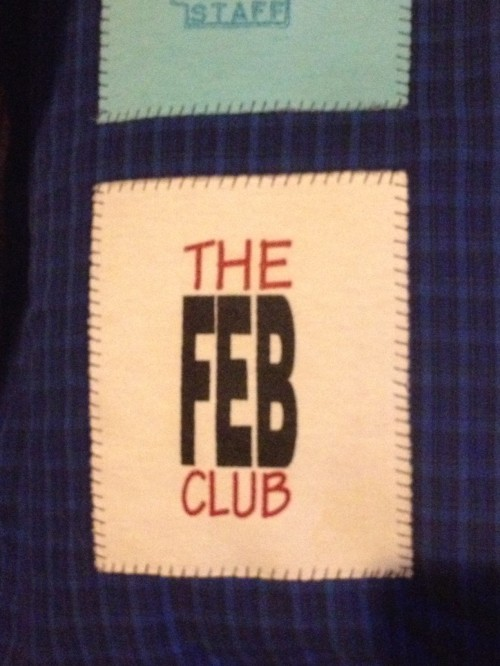 Feb Club pillow