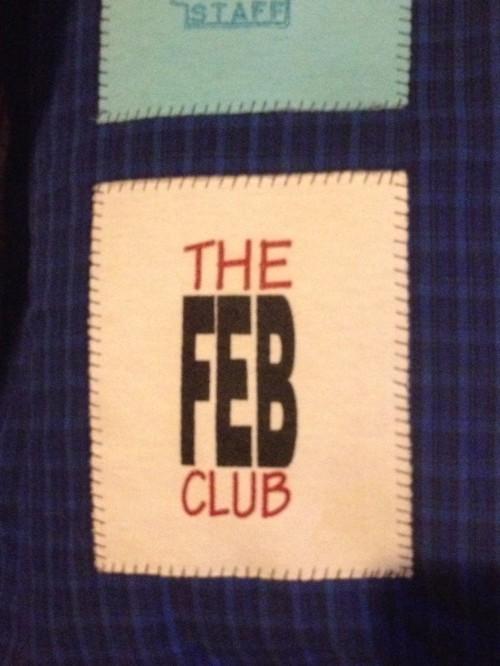 Feb Club pillow