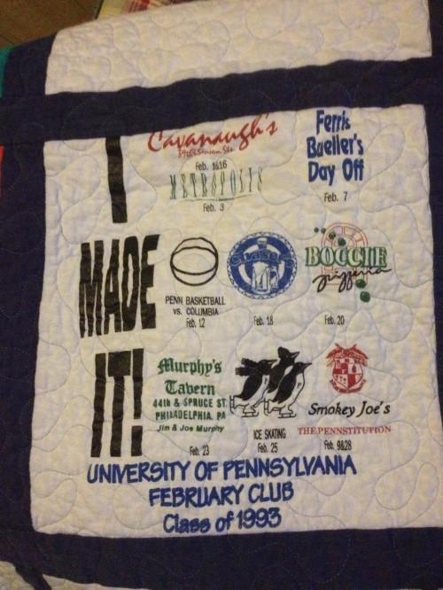 Feb Club quilt