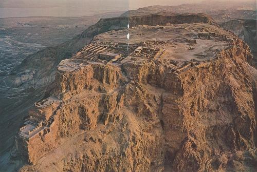 View of Masada