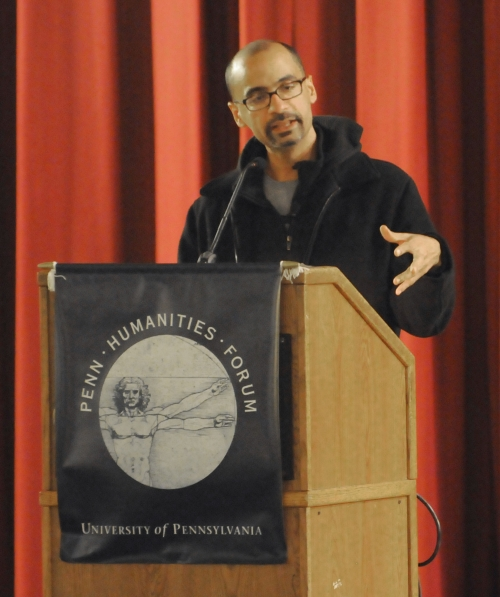 Junot Diaz. Photo credit: Imran Cronk from the DP.