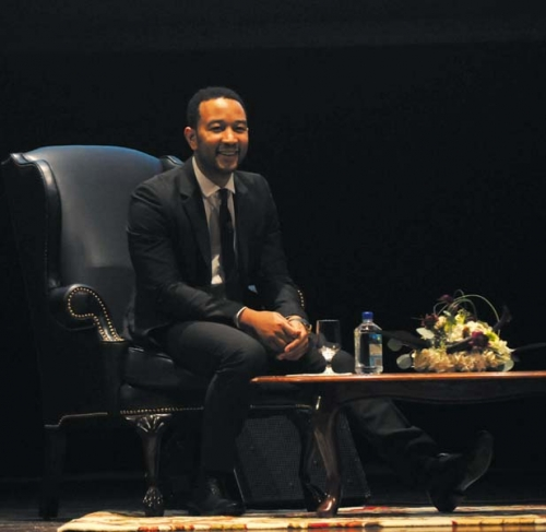 John Legend. Photo credit:  Sam Sherman.