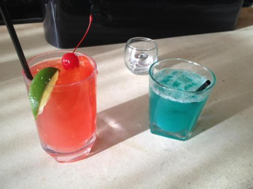 Red-Blue Highballs