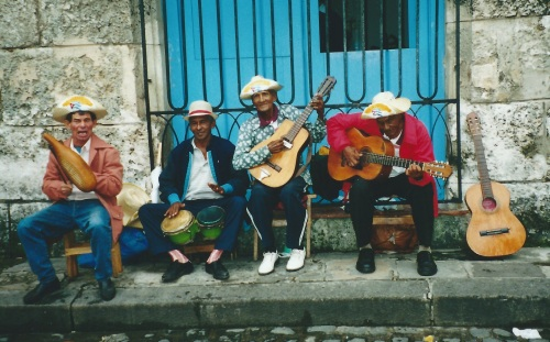 "First Place Culture Category: ""Street Musician-Havana,"" by Arthur Brown"