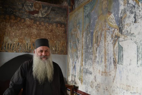 "First Place People Category: ""Father at Monastery of St. John,"" by Robin Love"