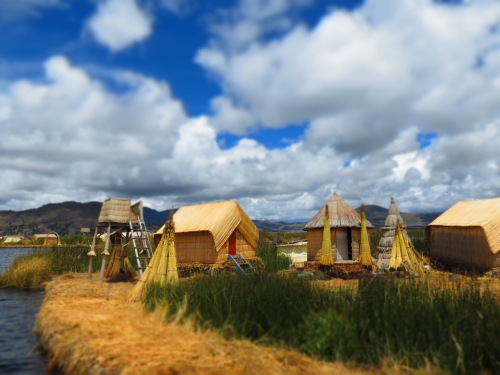 "Grand Prize Winner and First Place, Places Category: ""Reed House-Uros Islands,"" by Amy Converse"