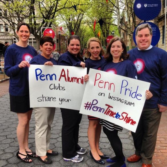 Penn Alumni Regional Clubs director Tara Davies' post.