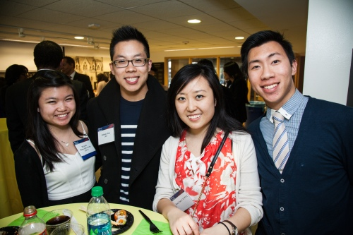 UPANN Student Award Winner, Michell Ming Shih Leong with Jenny Fan and Friends.