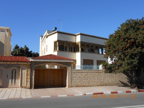 Domestic architecture in Rabat. Photo by Professor Thomas Max Safley.