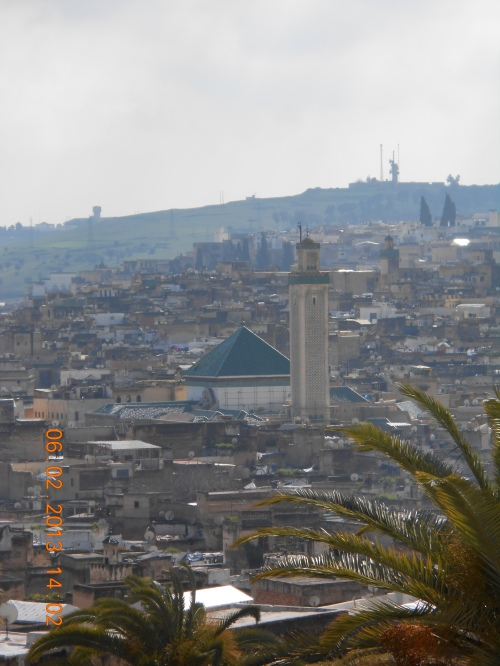 View of Fez. Photo by Professor Thomas Max Safley.
