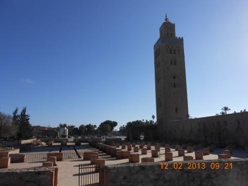 The Koutoubia Mosque of Marrakech. Photo by Professor Thomas Max Safley.