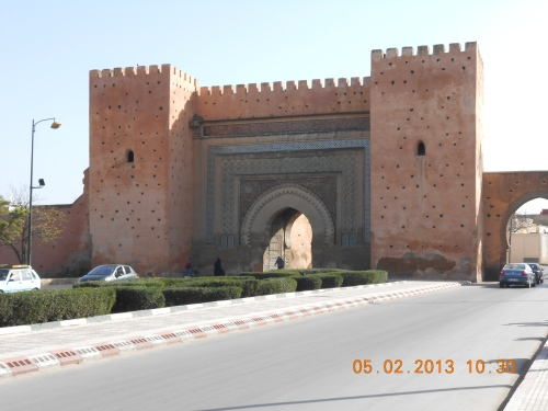 Gateway to Meknes. Photo by Professor Thomas Max Safely.