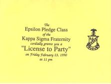 Invite Kappa Sigma