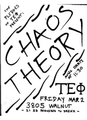 Invite Tep Chaos Theory
