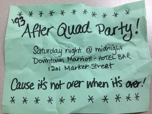 Quad after party
