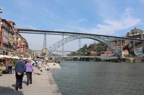 Porto bridge constructed by a student of Eiffel.