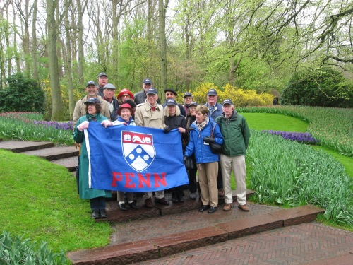 Penn Alumni at the Keukenhof Gardens
