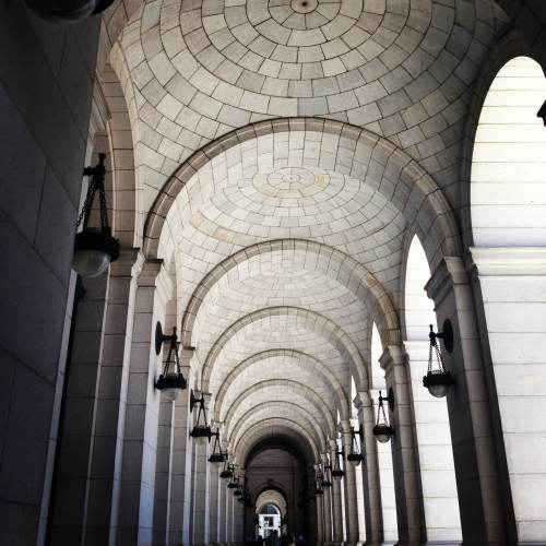 Union Station. I indulged a little and Instagrammed this.