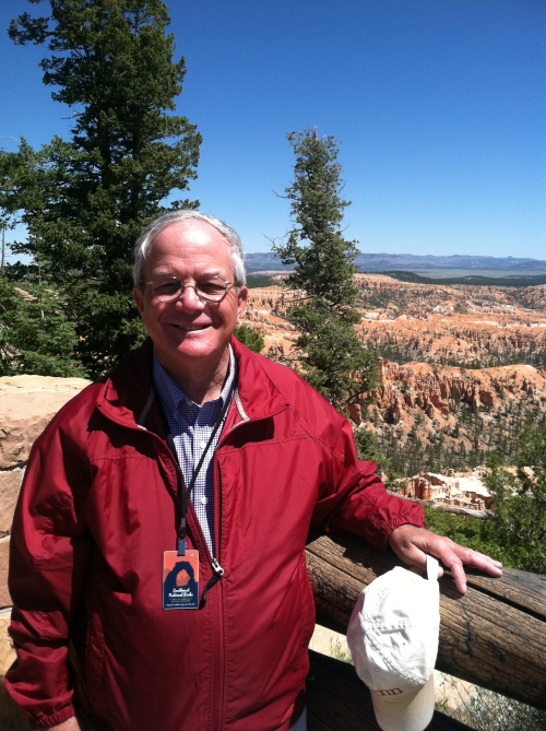 Portrait of the Author on his tour of the Southwest National Parks