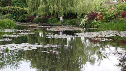 The Water Lily Pond at Monet's Giverny.