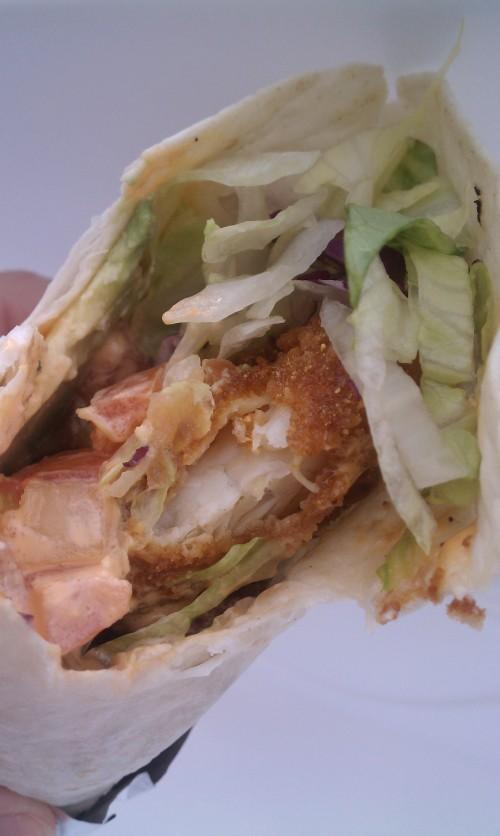Zapata's Cap'N Crunch Tilapia Burrito