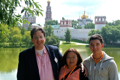 The Waldrons in Russia