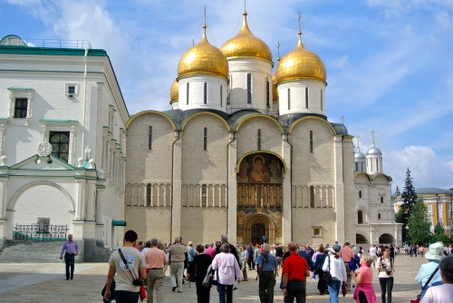 The Uspensky (Dormition) Cathedral.