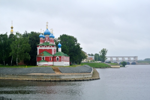 Uglich from the river.