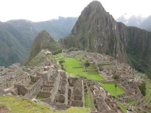 Amazing Machu Picchu in Peru.