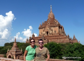 Lisa and George travel through Burma.