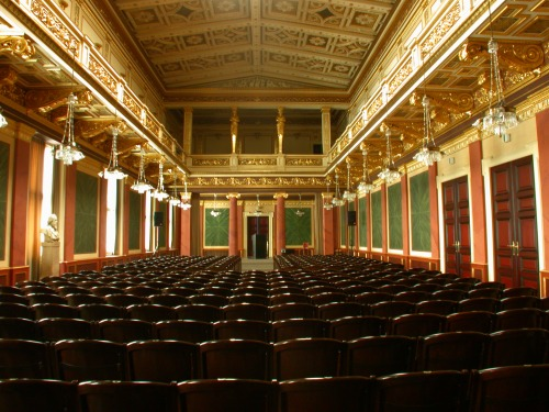 The Brahms-Saal of the Musikverein.