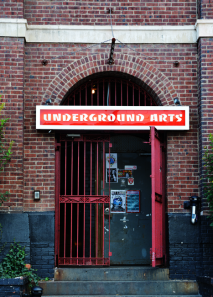 The entryway to Underground Arts. (courtesy of 34th Street)