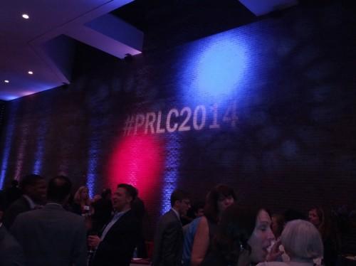 Love the hashtag! #PRLC2014
