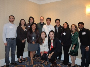 Penn Alumni club board members at the West Coast Alumni Leadership Conference