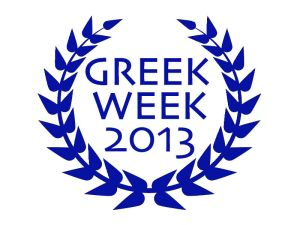 This year's Greek Week logo