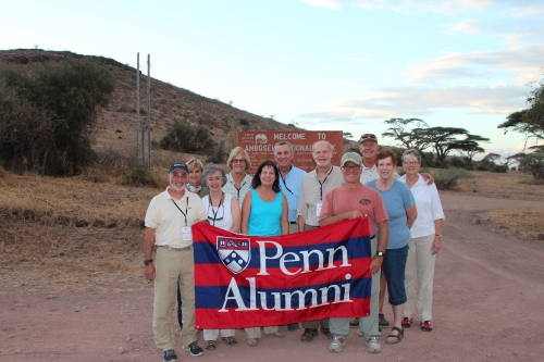 Our group's first stop after crossing the border from Tanzania into Kenya: Amboseli National Park