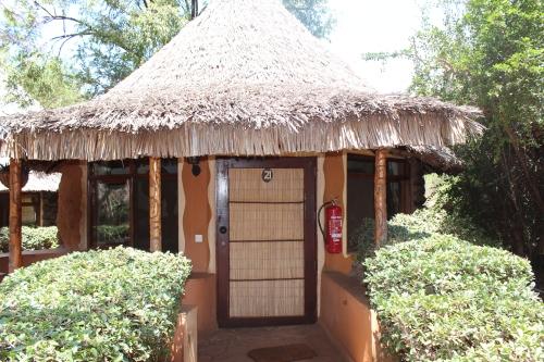 Room at the Amboseli Sopa Lodge, Kenya