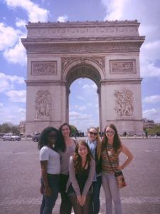 A beautiful day to see the Arc de Triomphe