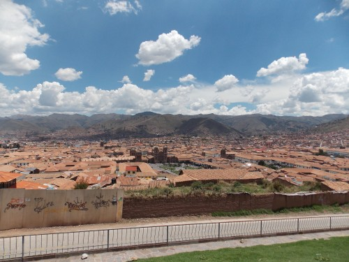 Cuzco, the capital city of the Incas.