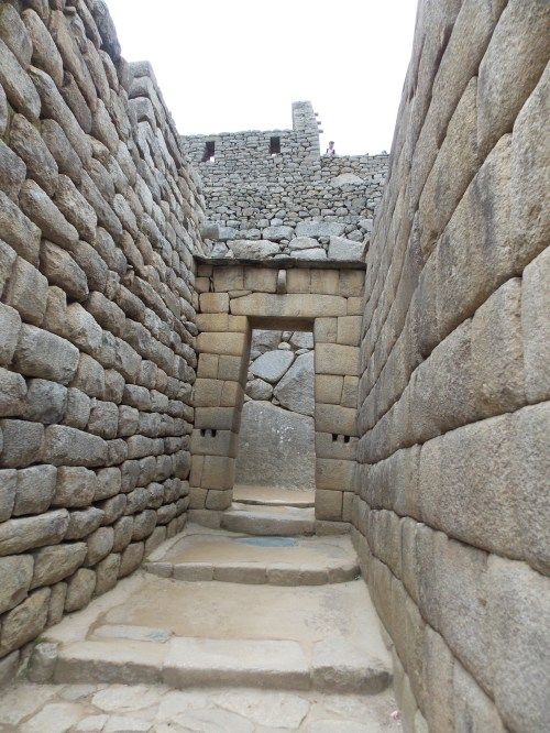 The impressive engineering skills of the Incas on display.