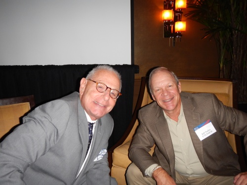 Marty Caan, W'69, PAR'11, and Jack Tauber, C'73, PAR'08