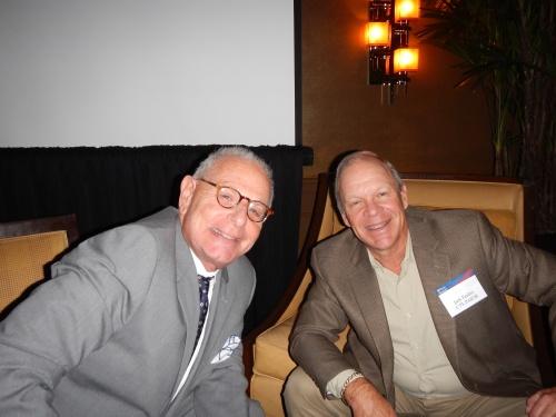 Marty Caan, W'69, PAR'11, and Jack Tauber, C'73, PAR'08