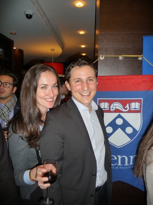 Board members: Sarah Lynch, GCP'08 & Laurent Bonnet, C'07